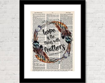 emily dickinson hope is the thing with feathers meaning