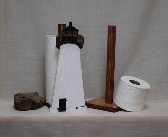 Ned S Point Lighthouse Toilet Paper Holder Nautical Etsy