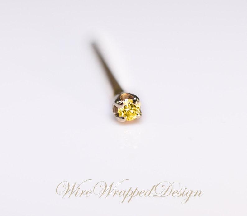 Jewelry Watches Body Piercing Jewelry Genuine Black Diamond Nose Ring Screw Stud Aaa 14k Yellow Rose White Gold Sraparish Org