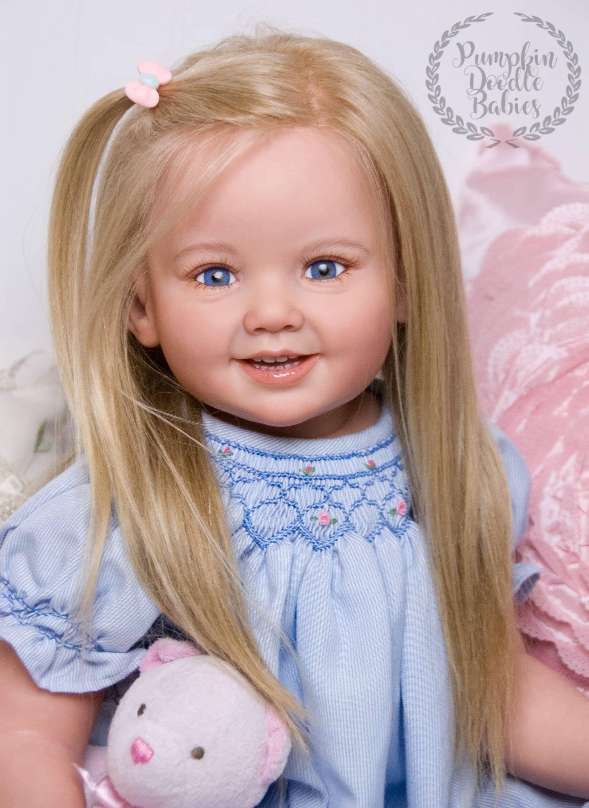 CUSTOM ORDER Reborn Toddler Doll Baby Girl Cammi by Ping ...