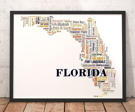 Florida Map Art, Florida Art Print, Florida State Map, Florida Typography on village of wellington florida map, bradenton florida map, st. cloud minnesota map, missouri florida map, st. cloud florida zip code map, alexandria florida map, varies florida map, sharpes florida map, howey in the hills florida map, pine castle florida map, union park florida map, wimauma florida map, south daytona florida map, pc beach florida map, orlando florida map, saint pete florida map, saint marks florida map, zellwood florida map, windermere florida map, printable florida state map,