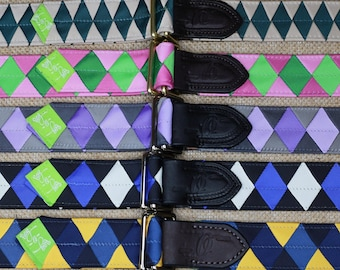 OLD FAVORITES Ready-to-Ship Grosgrain Ribbon Belt, Double Square Loop Closure