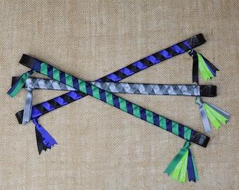 HAYMARKET Ready-to-Ship Satin Traditional Finish Ribbon Browbands