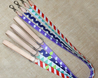 REFLECTIVE Ready-to-Ship Grosgrain Dog Leashes