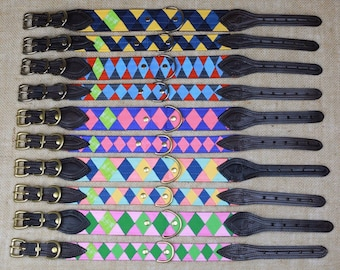OLD FAVORITES Ready-to-Ship Grosgrain Dog Collars with Buckle Closure