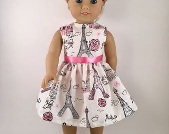 Doll Clothes   American made Doll Dress Fits 18