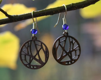 Wooden Branches Earrings