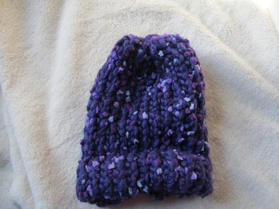 b920ca6fae6 Handmade Loom Knit Newborn Hat
