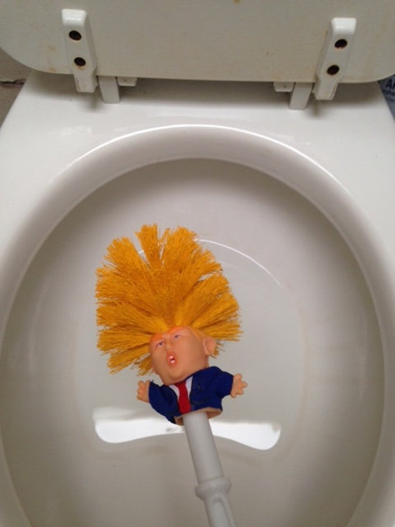 Original Trump Toilet Brush Make Toilet Great Again Etsy