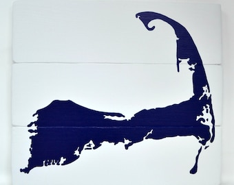 """Cape Cod Sign 12"""" by 10.5""""  