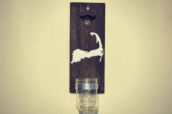 Cape Cod Bottle Opener Wall Mount Beer Cap Opener