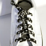 Mini Skulls Cotton Shoelaces. Halloween. Great Gift for all