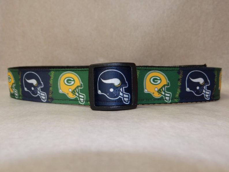 3e6388d95 Custom Dog Collar Vikings Packers A House Divided