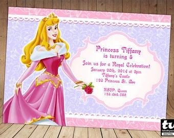 Sleeping Beauty Invitation