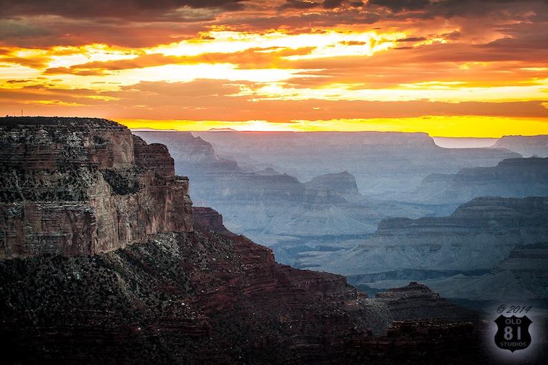 Grand Canyon Photography 16x24 Metal Art Print image 1