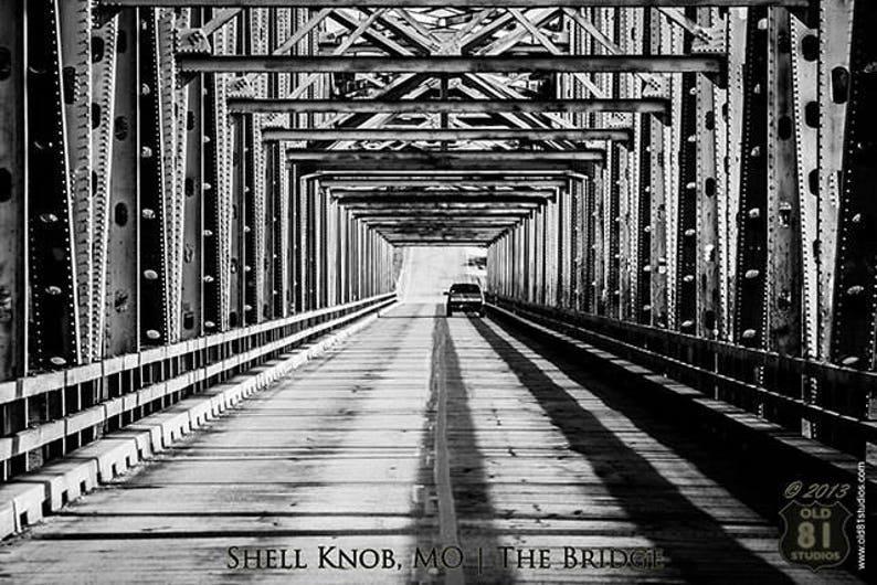 Art Print: The Bridge over Table Rock Lake at ShellKnob image 0