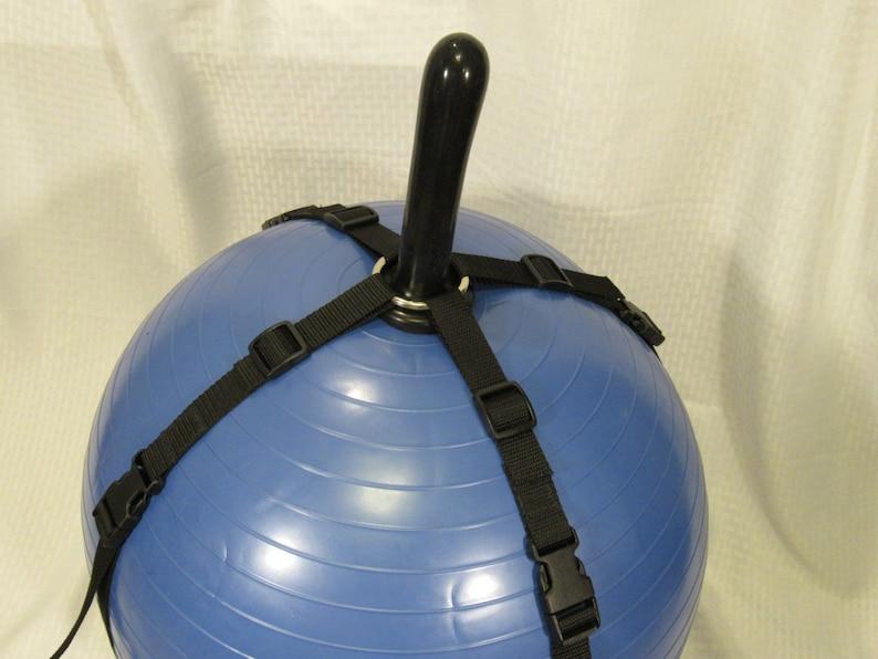 Dildo harness exercise ball pics 820