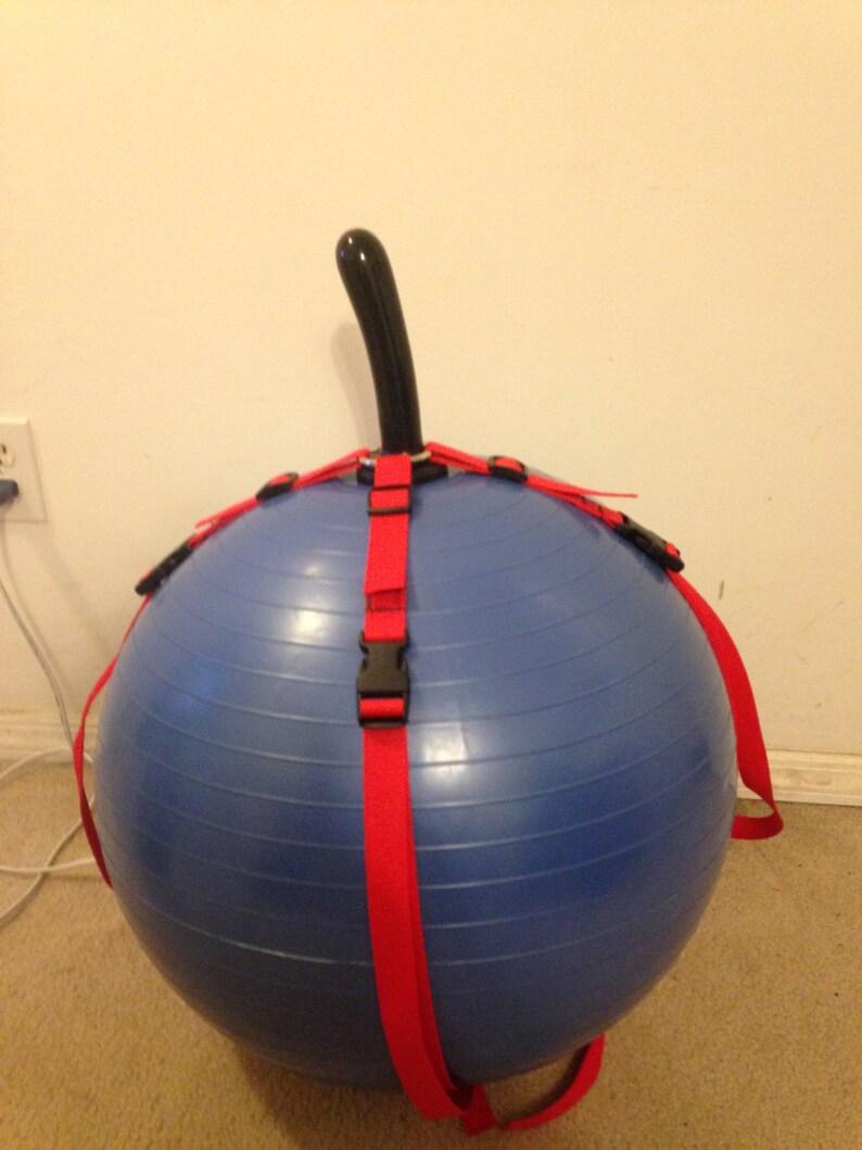 Dildo harness exercise ball pics 32
