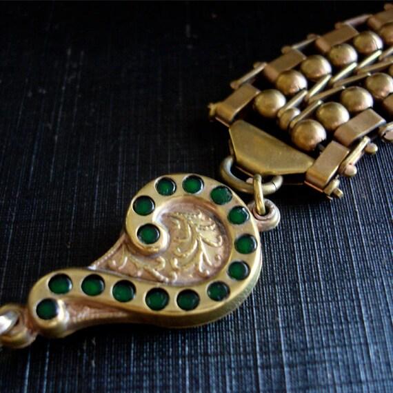 Art Nouveau Fob Chain - image 2