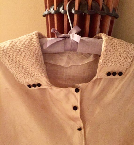Victorian Silk Blouse