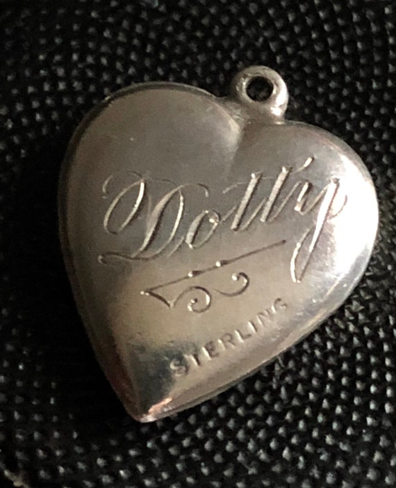 Puffy Heart-Dotty-FREE USA Ship - image 1