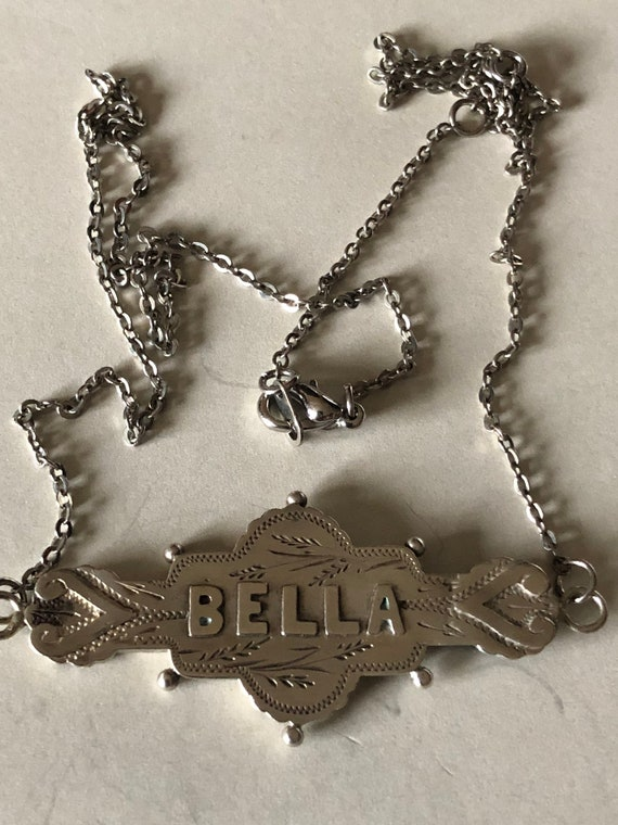 Victorian Name Necklace