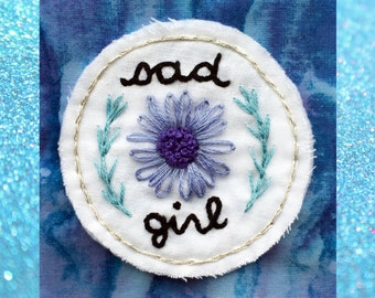 Sad Girl Patch