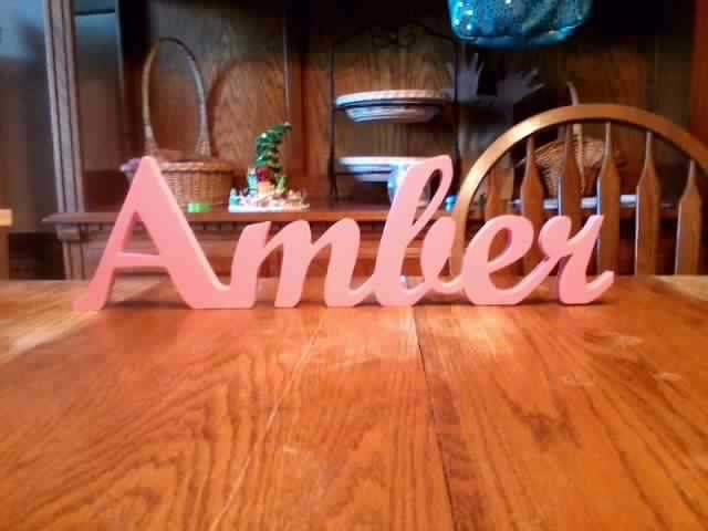 Handmade Wooden Name Sign Home Decor Custom Name Signs