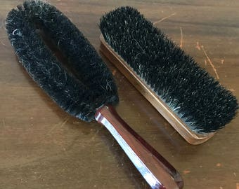 Vintage Bristle Brush Set - Mohawk and Stanley Home Products