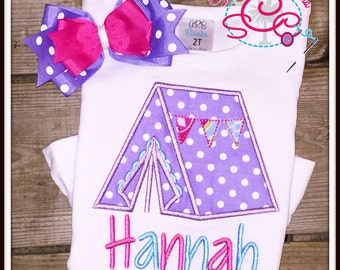 Personalized Camping Shirt/Bodysuit