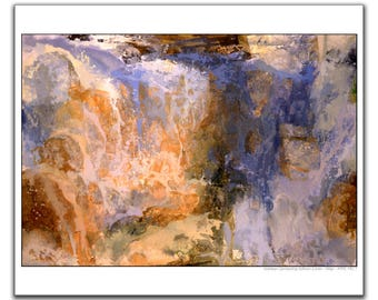 Abstract expressionism, Kathleen Gemberling Adkison, Abstract wall art, modern art, modern wall décor, abstract landscape art, Northwest art