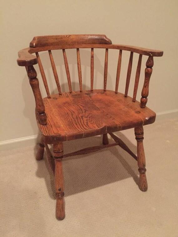 Bon Antique Solid Oak Wood   Captainu0027s Chair   Very Nice ! Bentwood Thonet Style