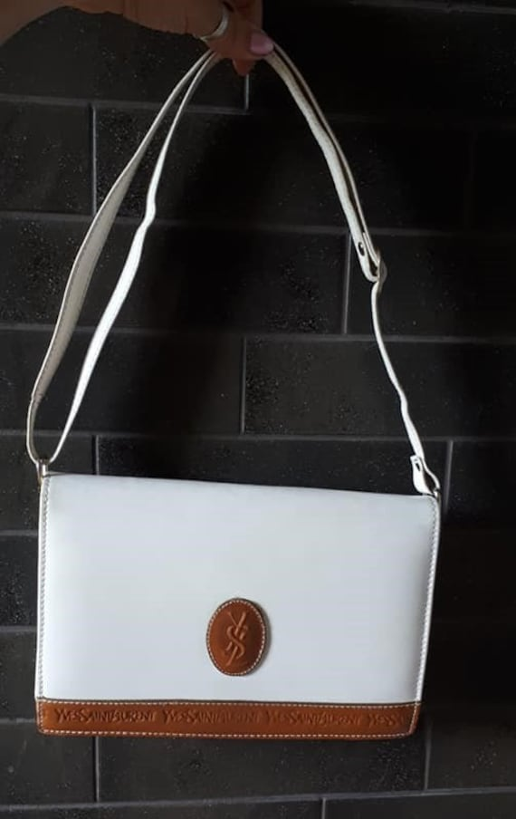 YSL laurent vintage clutch bag