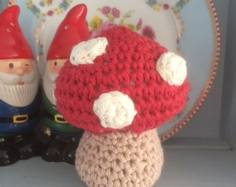 Toadstool Crochet Kit