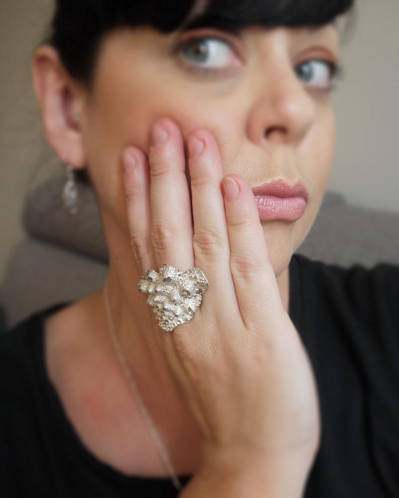 Romanesco large ring