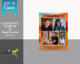 CANVA Yearbook Ads