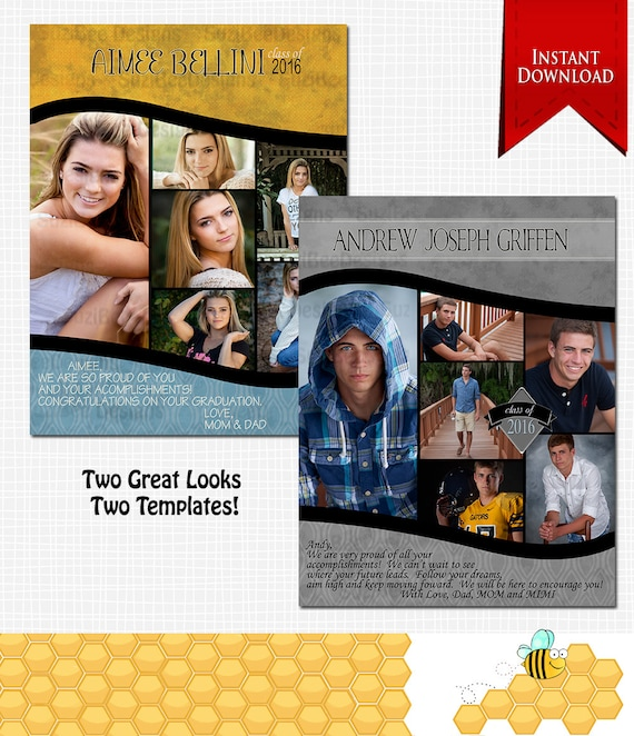 Downloadable Yearbook Ad Senior Full
