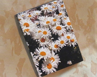 Daisy Herbarium, catalog and save plants, nature journal, blank journal, notebook