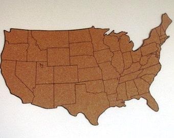 Cork Board Maps