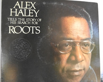 Alex Haley -Roots- vinyl record with original booklet attached