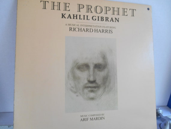 The Prophet Kahlil Gibran A Musical Interpretation Featuring Richard Harris Music Composed By Arif Mardin Vinyl Record