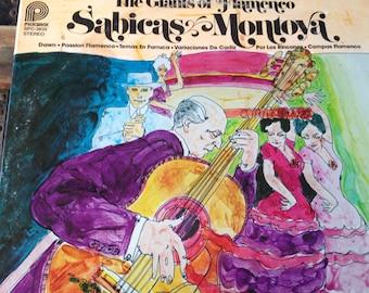 The Giants of Flamenco - Sabicas / Montoya - vinyl record