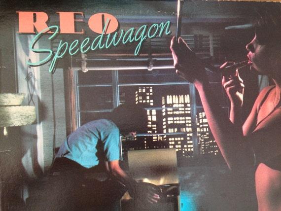 REO Speedwagon - Hi Infidelity - vinyl record