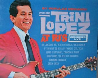 Trini Lopez -By Popular Demand More Trini Lopez At P.J.'s - vinyl record