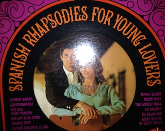 Midnight String Quartet - Spanish Rhapsodies For Young Lovers - vinyl record