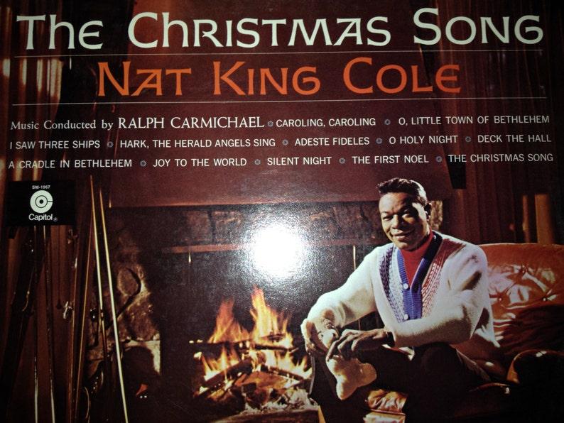 Nat King Cole Christmas Album.Nat King Cole The Christmas Song Vinyl Record