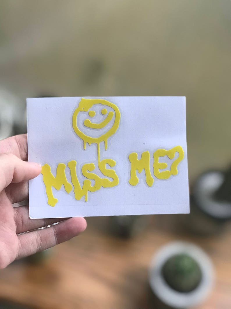 Miss Me Decal Sherlock image 0