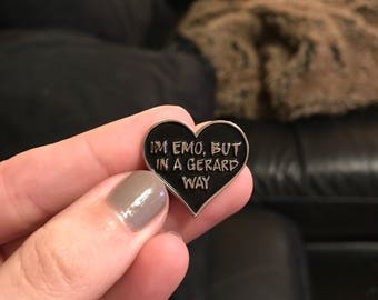 I'm Emo Enamel Pin