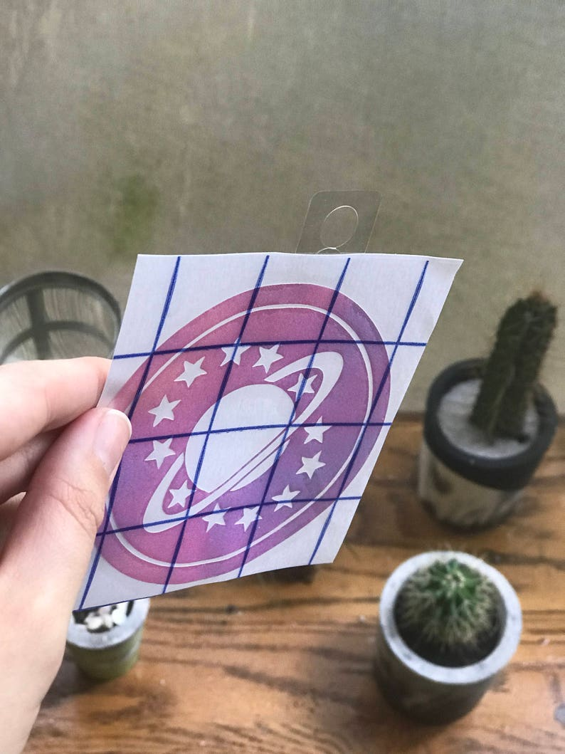 Galaxy Quest HOLOGRAPHIC vinyl decal image 0