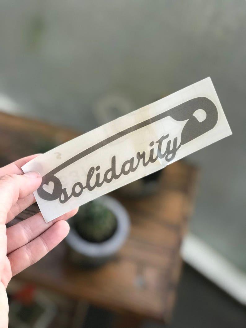 Solidarity decal image 0